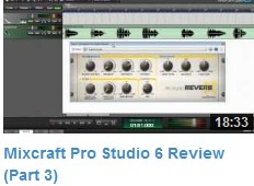 Mixcraft Review Video #3