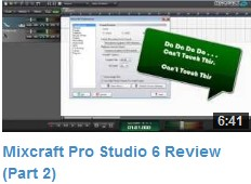 Mixcraft Review Video #2