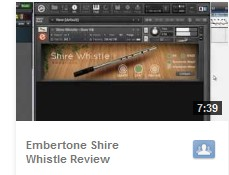 Shire Whistle Video Review YouTube