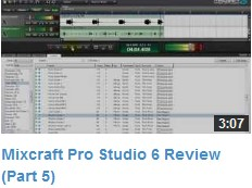 Mixcraft Review Video #5
