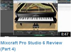 Mixcraft Review Video #4