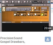 Gospel Drawbars Video