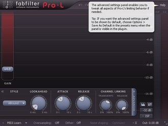 FabFilter Pro-L Advanced