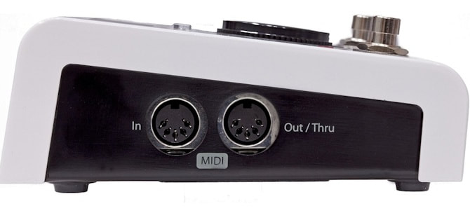 H9 MIDI Side view Picture