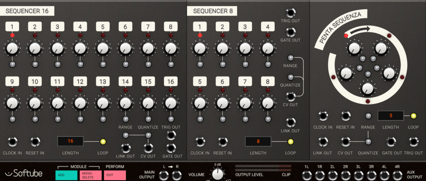 Softube Modular Sequencers